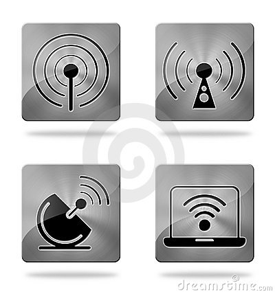 Wireless communication icons
