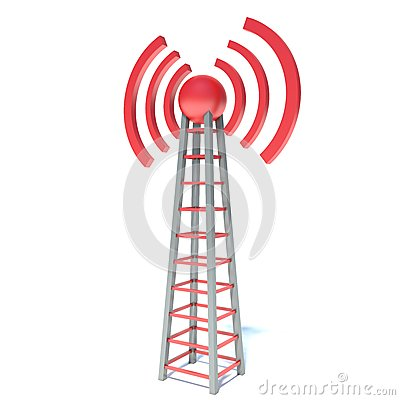 Wireless communication tower