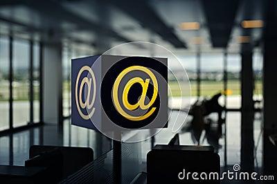 Wireless Hot Spot (internet) in airport