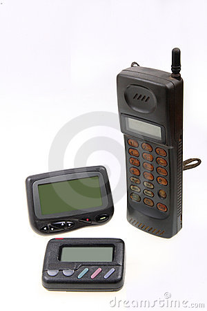 Wireless pager and cell-phone