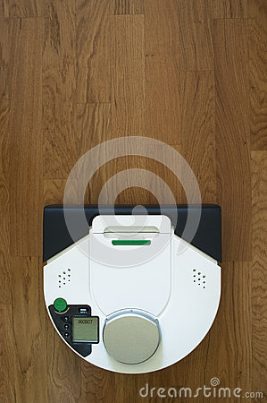 Wireless robot vacuum cleaner