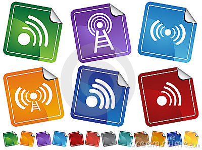 Wireless Stickers