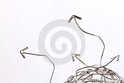 Wiring arrows