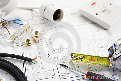 Wiring tools and materials