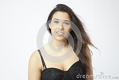 Wirkliches schönes junges Mädchen