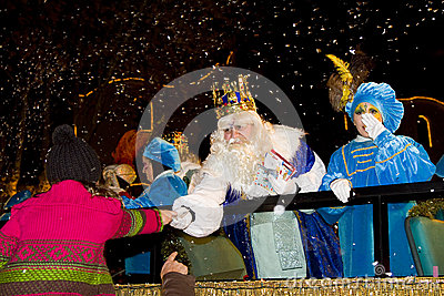 Wise men parade Editorial Stock Image