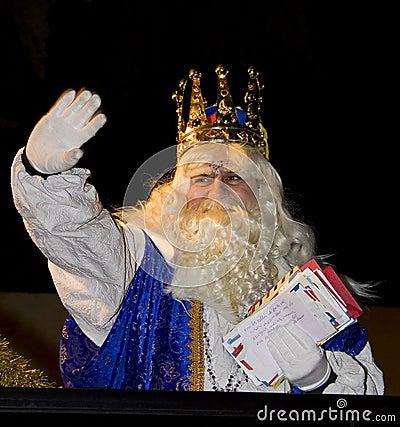 Wise men parade Editorial Stock Photo