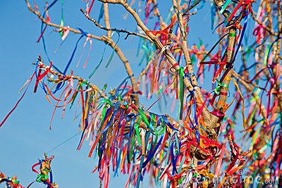 Wish Tree Royalty Free Stock Images - Image: 17499939