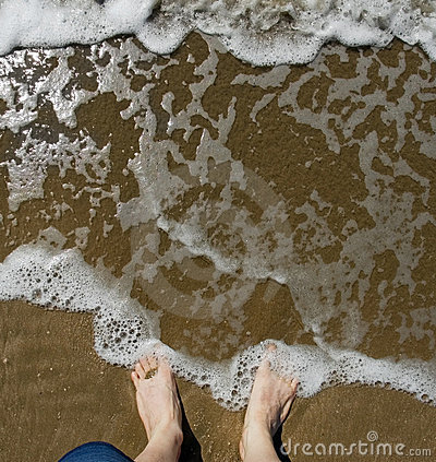 Wish You Were Here - Feet in Surf