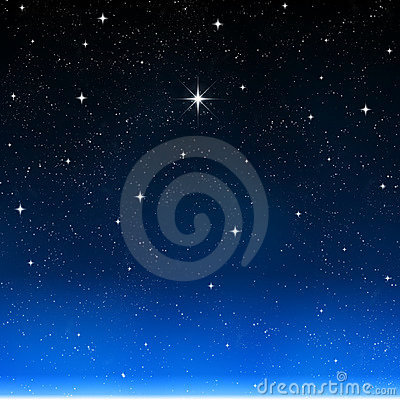 wishing star starry night sky