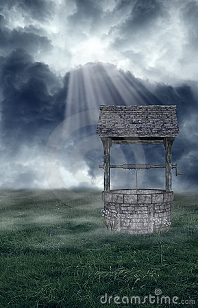 Free Wishing Well Royalty Free Stock Photos - 10196858