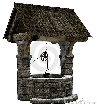Free Wishing Well Royalty Free Stock Photos - 18570338