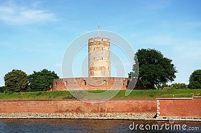 Wisloujscie citadel in Gdansk, Poland