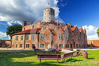 Wisloujscie fortress in Gdansk