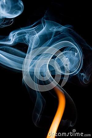 Wisps of smoke