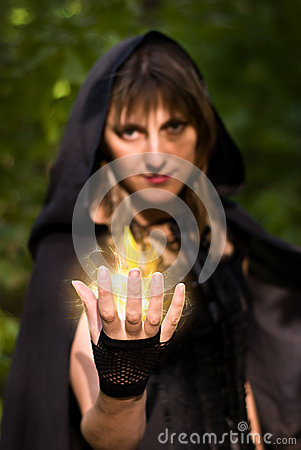 Apologise, Sorceress casting spell are