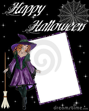 Witch Happy Halloween Scrapbook