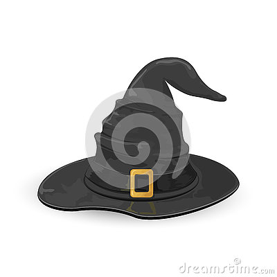Witch hat Vector Illustration