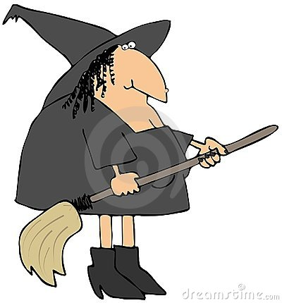 Witch And Her Broom