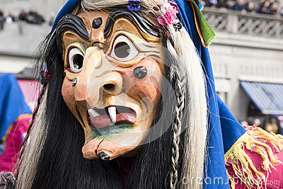 Witch Mask at carnival