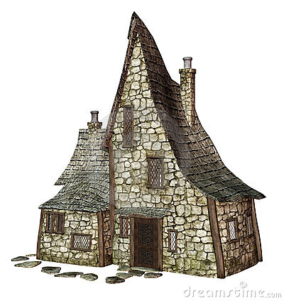 Free Witch S Cottage 1 Stock Image - 15417441