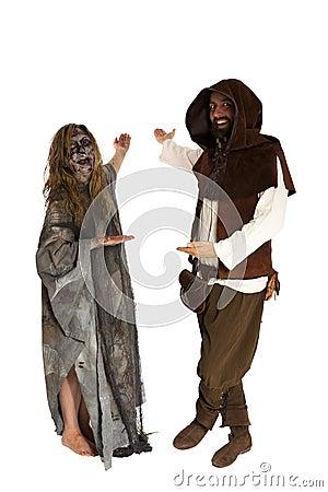 Witch and Squire invite
