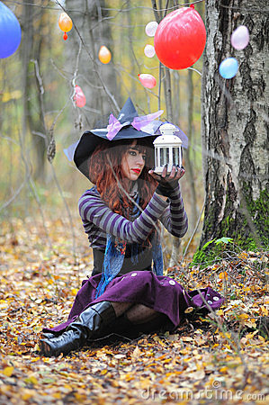 Witch in wood