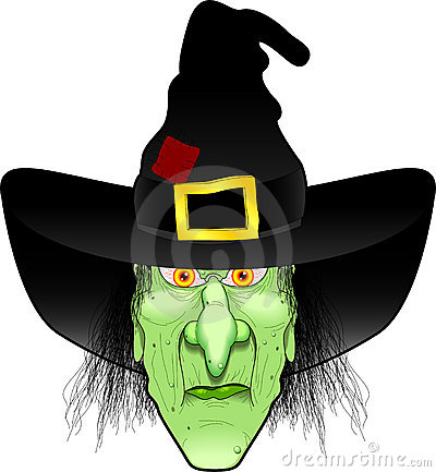 Free Witch_face Royalty Free Stock Photo - 1257485
