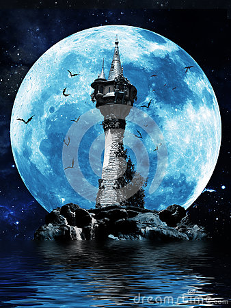 Free Witches Tower Royalty Free Stock Photos - 31886858