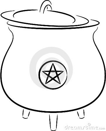 Witch's pot