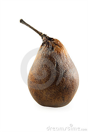 Withering pear
