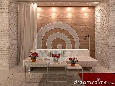 Witte laag tegen houten muur met gordijn en tapijt stock illustratie afbeelding 41133962 - Tapijt badkamer hout ...