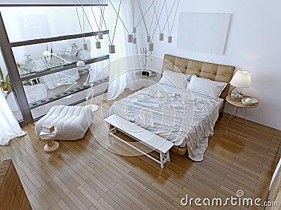 Slaapkamer Bruin Paars : Slaapkamer moderne witte paars gehoor geven aan uw huis
