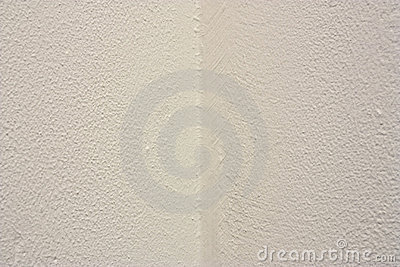 Witte muurhoek