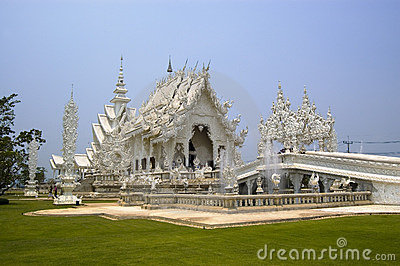 Witte Thaise Tempel