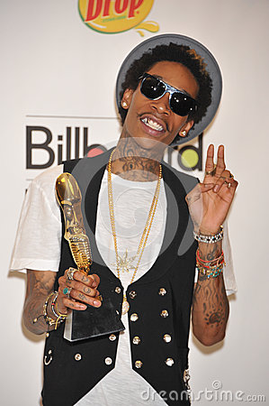 Wiz Khalifa Editorial Stock Photo