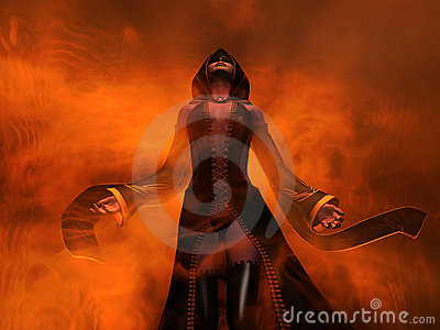 Wizard human female