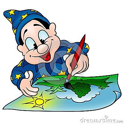 Wizard Painter