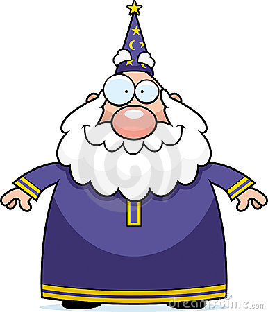 Wizard Smiling