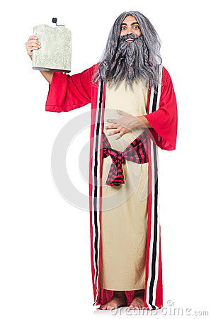 Wizard with water flask