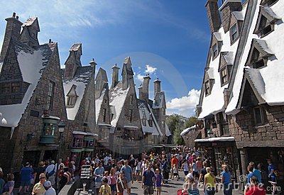 Wizarding World of Harry Potter Editorial Photography