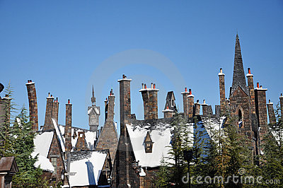Wizarding World of Harry Potter Editorial Stock Photo