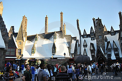Wizarding World of Harry Potter Editorial Image