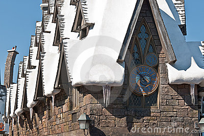 Wizarding World of Harry Potter Editorial Stock Image