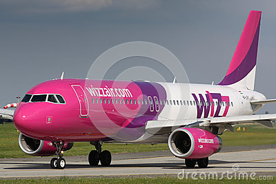 A320 Wizz Air Editorial Photography