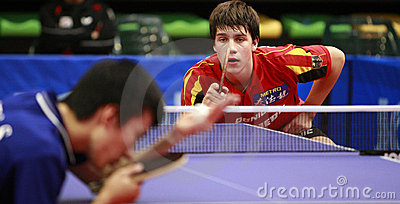WJTTC Madrid 2008 Editorial Stock Photo