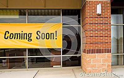 Wkrótce się otworzyć sklep