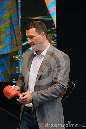 Wladimir Klitschko Editorial Stock Photo