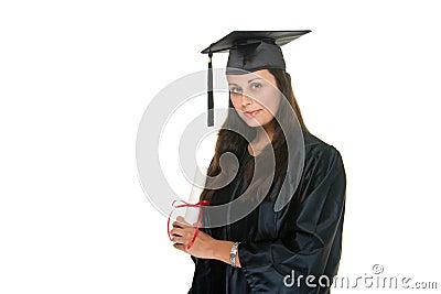 Wo Graduate Receives Diploma 8
