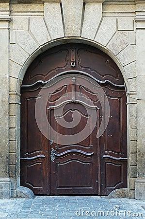 Wodden door